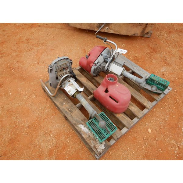 (2) bumper boat motor