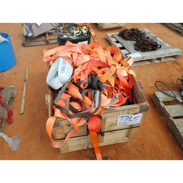(1) crate tie down straps