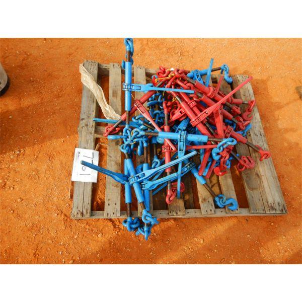 (1) pallet chain binders