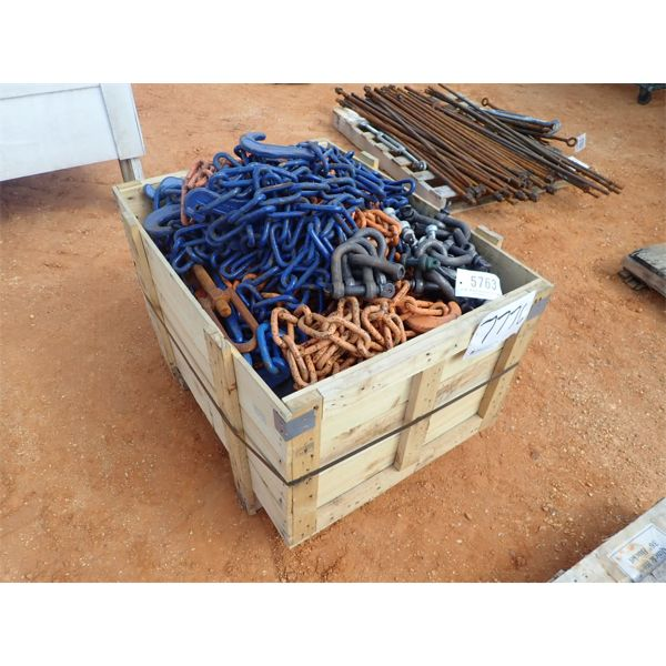 (1) crate chain