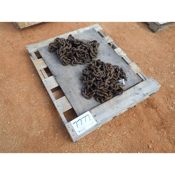 (1) pallet of chain