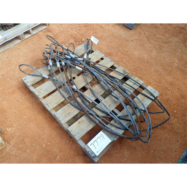 (1) pallet of cable ties