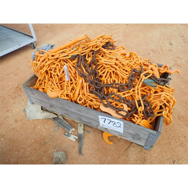 (1) crate of chain