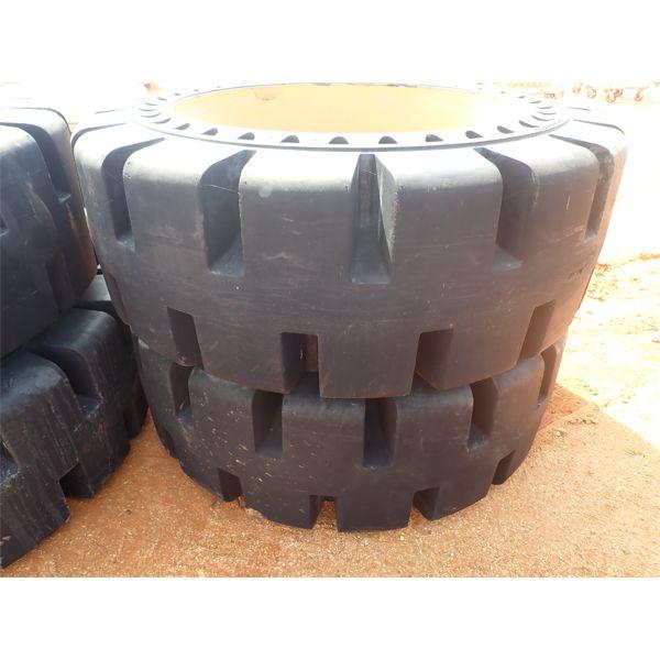 (4) Cay Flexport 20.5 x 25 tires & rims