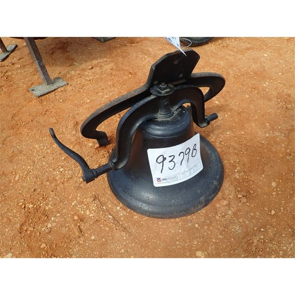 crystal metal dinner bell