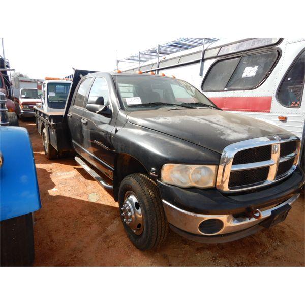 2003 DODGE RAM 3500 Flatbed Truck