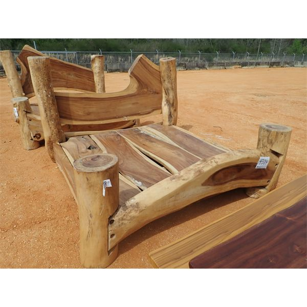 Cypress king size bed