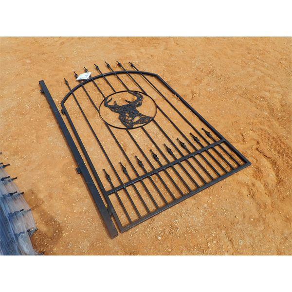 4' x 6' wrought iron gate