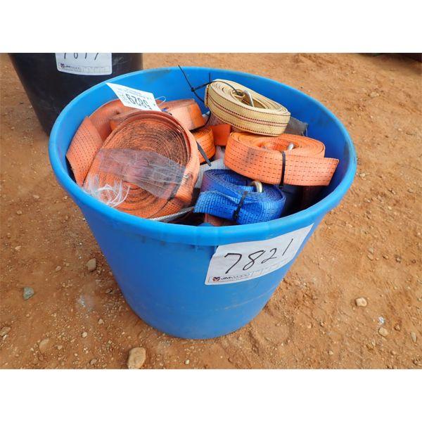 (1) bucket strap rachet