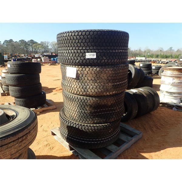 (4) 460/60D24 tires