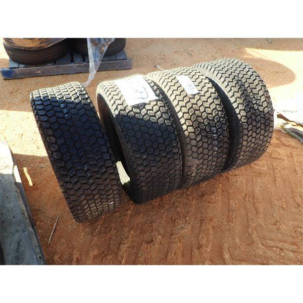 (4) 265/55D16.5 tires