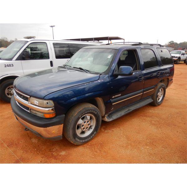2001 CHEVROLET TAHOE SUV