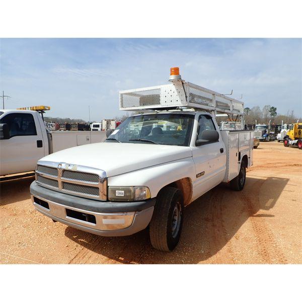 2000 DODGE RAM 2500 Service / Mechanic Truck