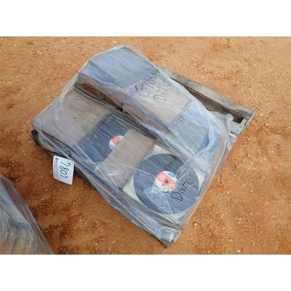(1) pallet grinding disc