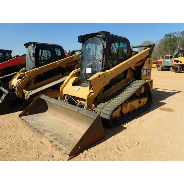 2016 CAT 299D2 XHP Skid Steer Loader - Crawler
