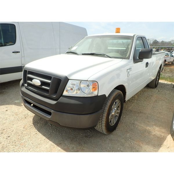 2008 FORD F150 XL Pickup Truck