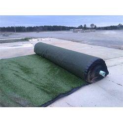 (4) 15' x 300' rolls of olive green engineered turf