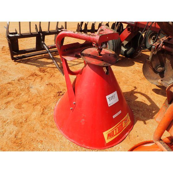 THE HOLLOW  fertilizer spreader