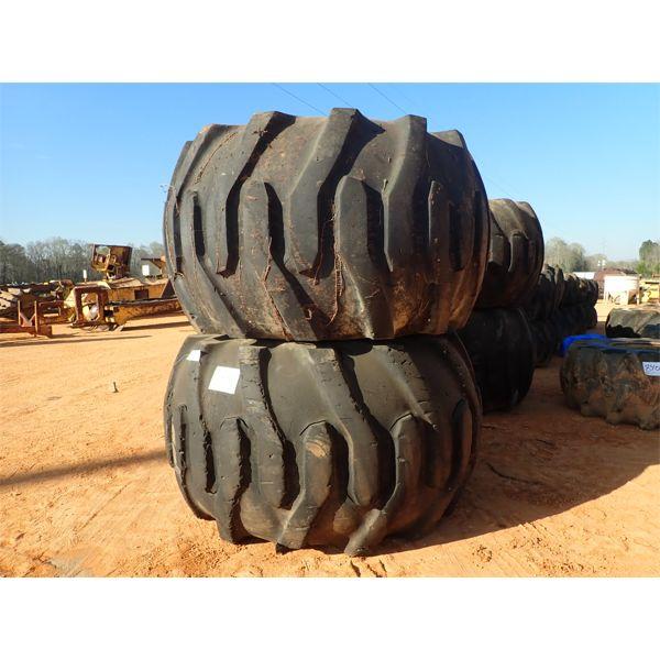 (2) 78 x 45.00-32 tires w/rims