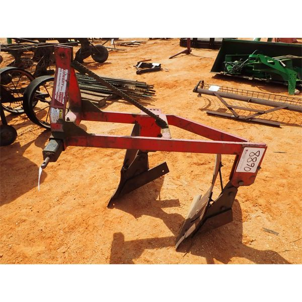 2 row bottom plow