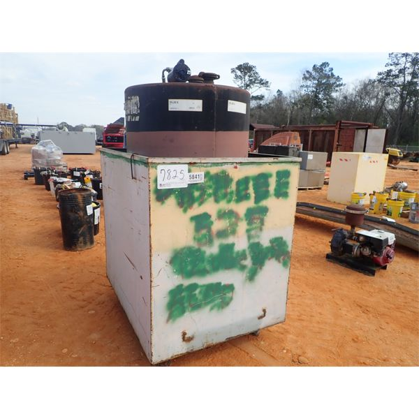 250 gallon hyd oil tank w/pump
