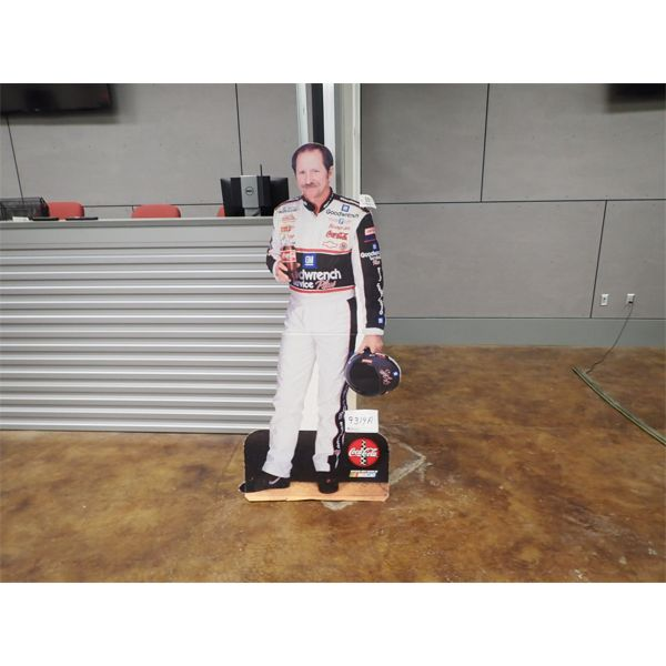 Dale Earnhardt cardboard stand-up