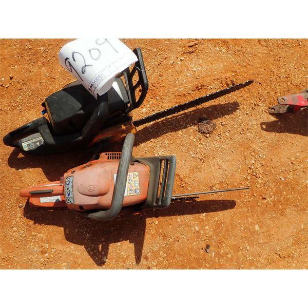 (2) chain saws