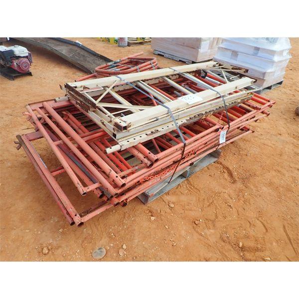 2 pallets of scaffolding