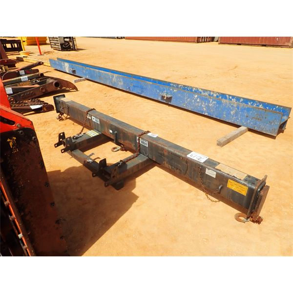 Lifting beam, fits fork lift