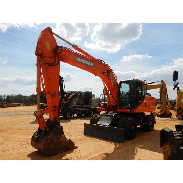 2013 DOOSAN DX190W-3 Excavator - Wheel