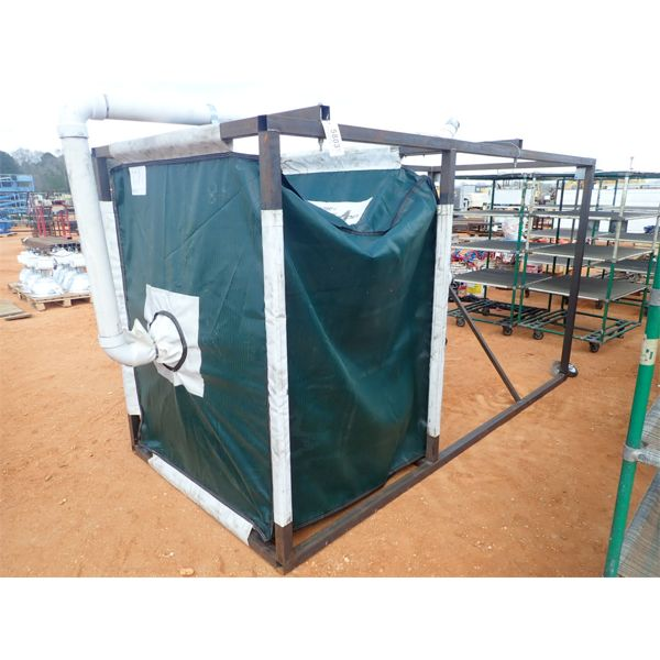 frame & bag hopper unit
