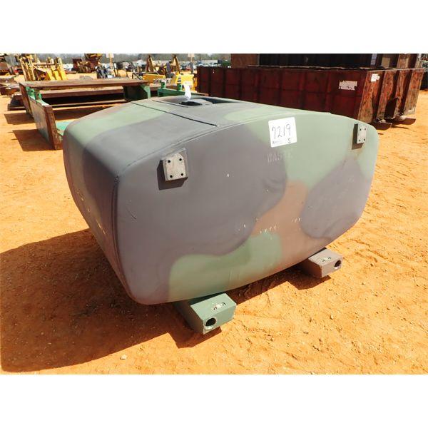 500 gallon military type fuel storage tank