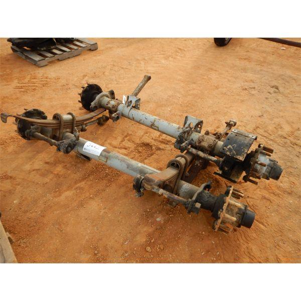(2) trailer axles