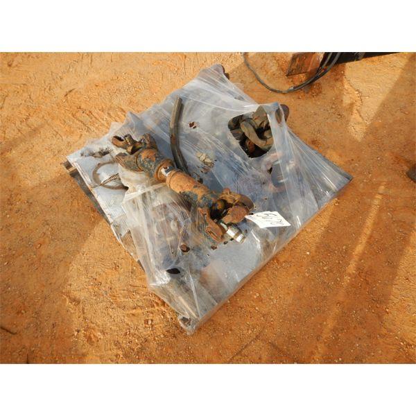 (1) pallet misc drive shafts