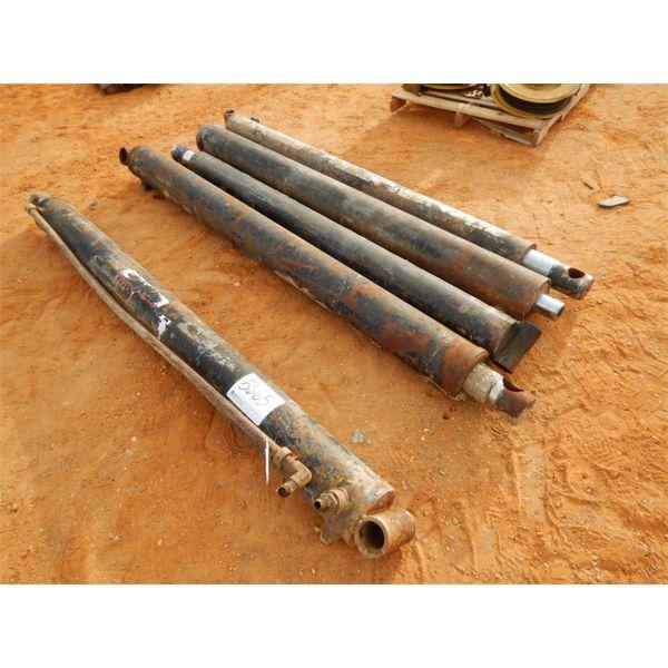 """(5) each hyd cylinders, 96"""" stroke"""