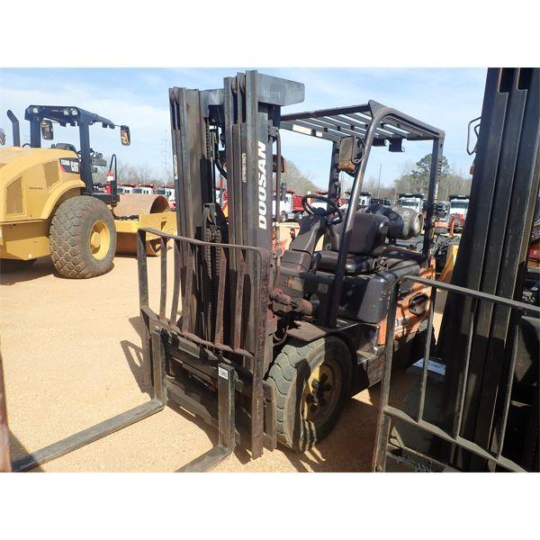 DOOSAN G25E-5 Forklift - Mast