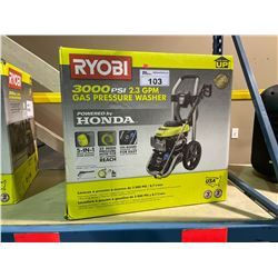 RYOBI 3000 PSI 2.3 GPM GAS POWERED PRESSURE WASHER