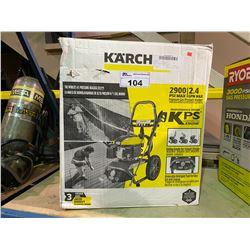 K'A'RCHER 2900 PSI 2.4 GPM GAS POWERED PRESSURE WASHER