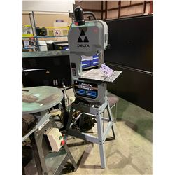 """DELTA 10"""" ELECTRIC VERTICAL BAND SAW ON STAND"""