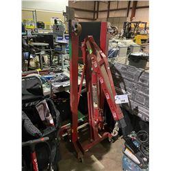 BIG RED 2 TON MOBILE HYDRAULIC INDUSTRIAL ENGINE HOIST