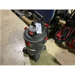 HUSKY AIR NAIL GUN, ANVIL ELECTRIC COMPRESSOR & SHOP-VAC MOBILE SHOP VACUUM