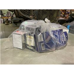 BAG OF ASSORTED PERSONAL CARE PRODUCTS