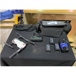 DJI MAVIC AIR U11X DRONE WITH DJI CARRY CASE, CONTROLLER, 3 BATTERIES & CHARGER