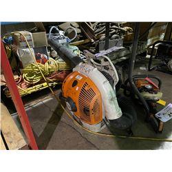 STIHL BR 500 GAS POWERED BACK PACK LEAF BLOWER