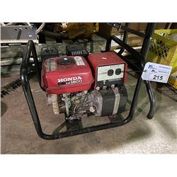 HONDA EZ 1800 GAS POWERED PORTABLE GENERATOR