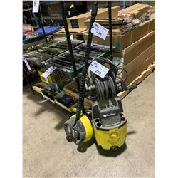 K'A'RCHER KING WASH ELECTRIC POWER WASHER ( NO TRIGGER , HAS GROUND WASHING ATTACHMENT )