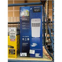 MIDEA 6,000 BTU/H ELECTRIC PORTABLE AIR CONDITIONER