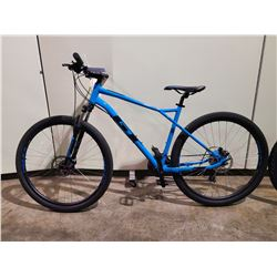 BLUE GT AGGRESSOR 21 - SPEED FRONT SUSPENSION MOUNTAIN BIKE WITH FULL DISC BRAKES