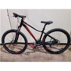 BLACK NORCO STORM 24 - SPEED FRONT SUSPENSION MOUNTAIN BIKE WITH FULL DISC BRAKES