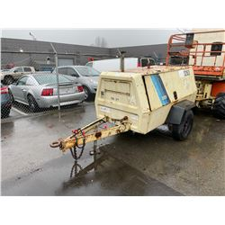 INGERSOLL RAND, MODEL P185, AIR COMPRESSOR, SER # UNKNOWN,